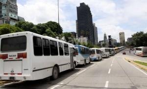 Autobuses en Caracas