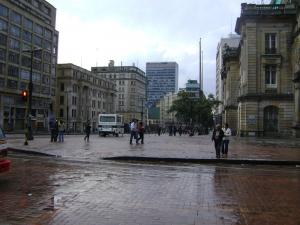 La ciudad de Bogotá tiene un clima de montaña