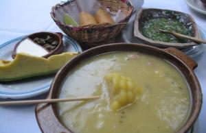 Gastronomía de Bogotá