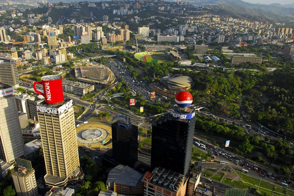 La ciudad de Caracas