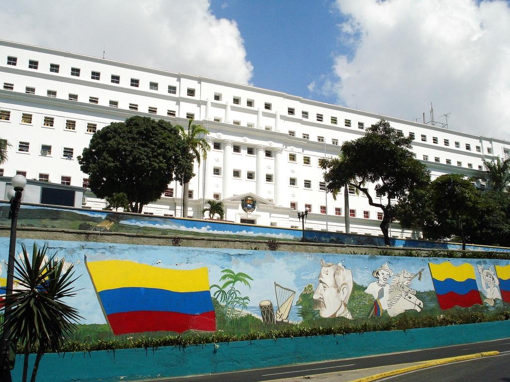 Palacio De Miraflores Caracas Ciberturista