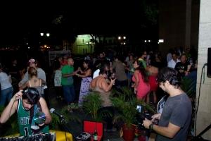 La vida nocturna en Caracas