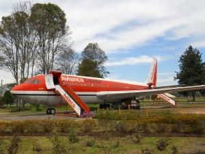 Avión de Avianca en el Museo de los Niños, Bogotá