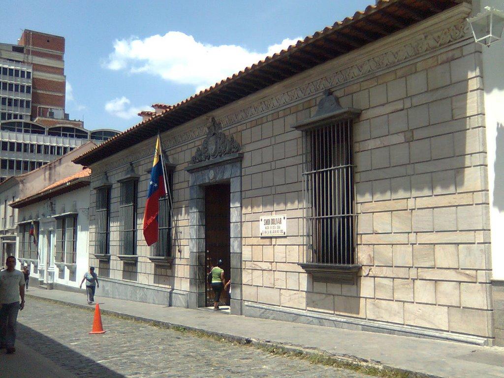 Casa Natal De Simón Bolívar Caracas Ciberturista