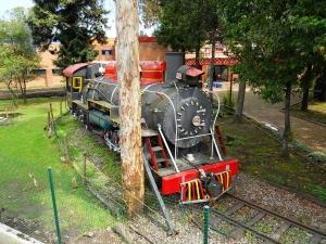 Locomotora en el Museo de los Niños, Bogotá