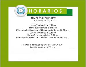Horario temporada alta Teleférico de Caracas